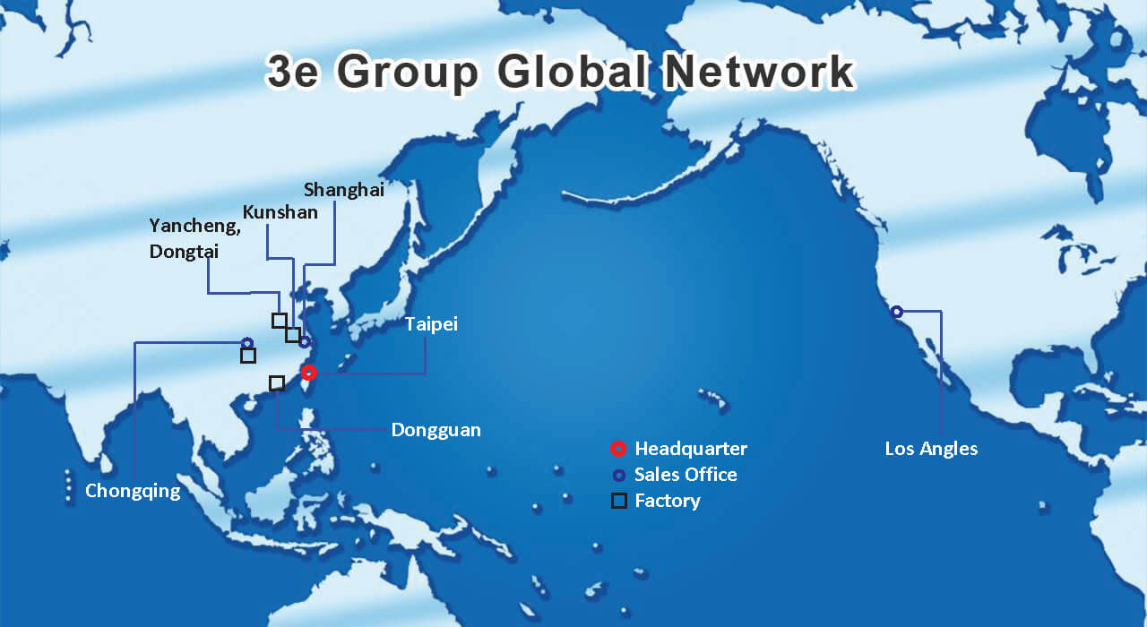 3e Group Global Networking
